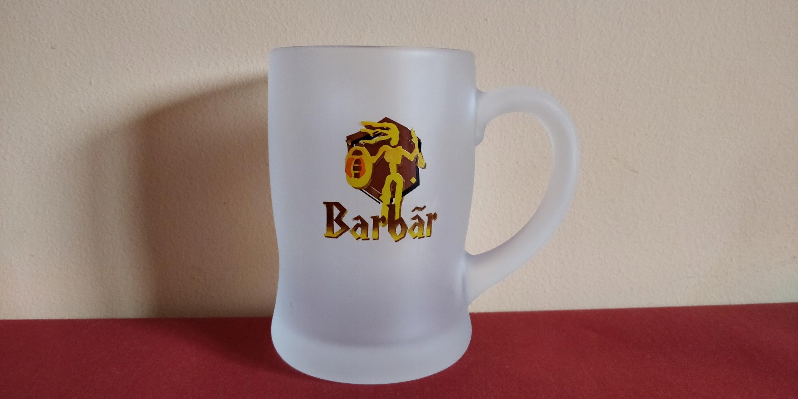 Kufel Barbar, 0,33 cl