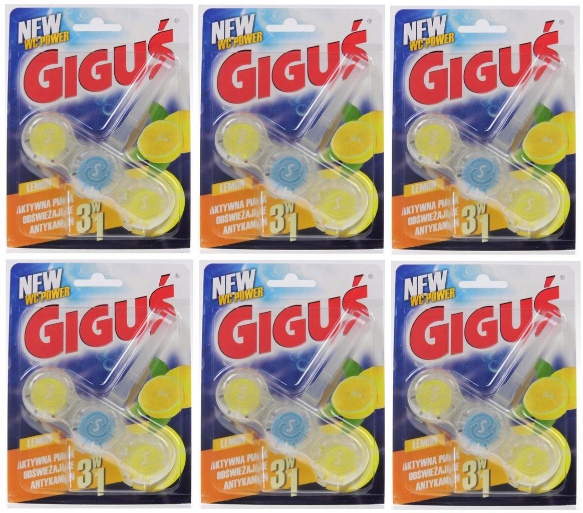 Туалетный кулон Гигуэ Лимонный шар 3in1 x 6