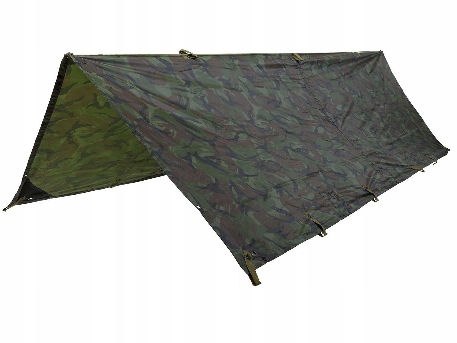 Kombat - Biwakowa PRIKRYŤ PLACHTOU BASHA DPM 250x170cm