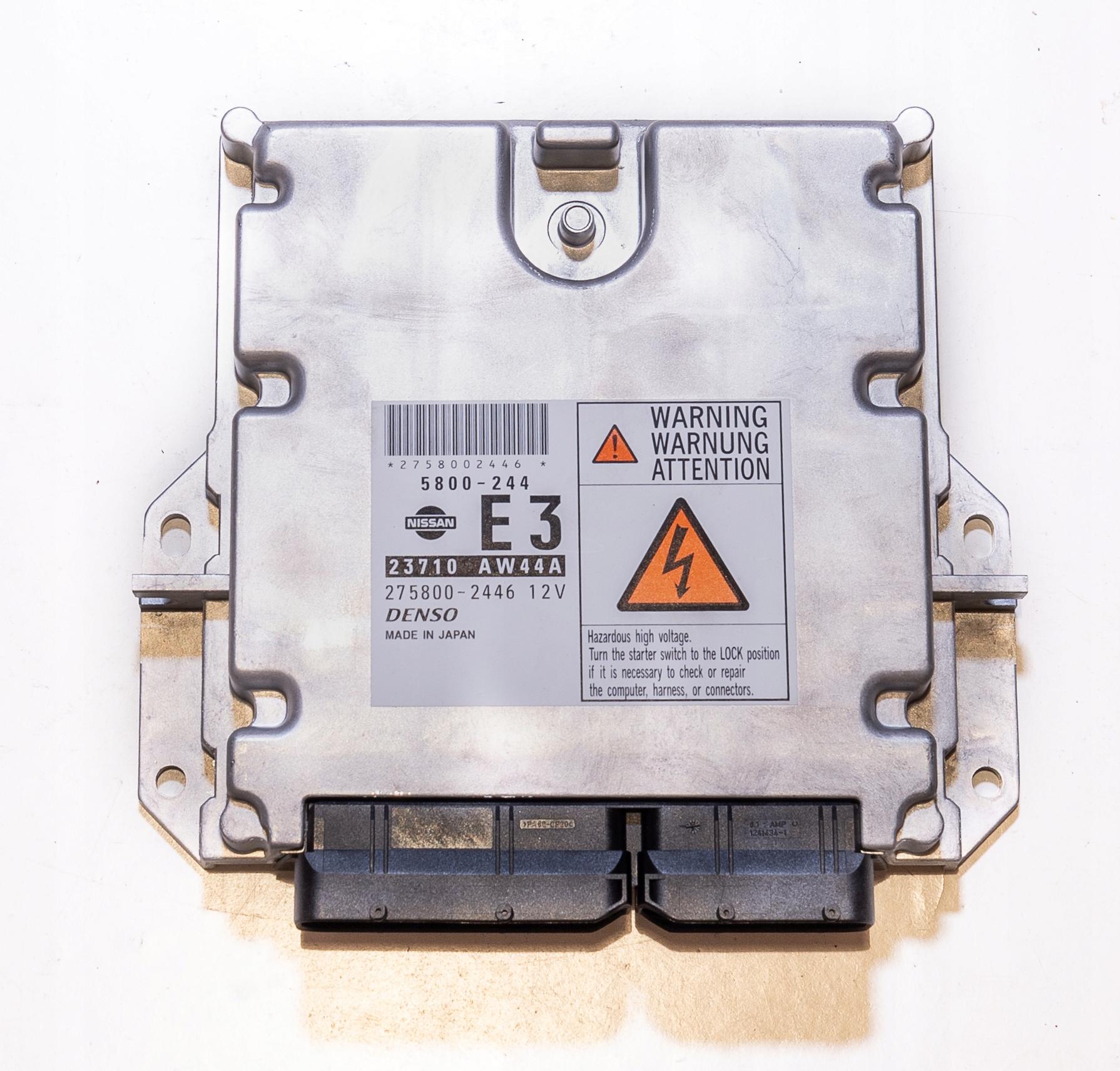 CONTROLLER ECU ENGINE NISSAN PRIMERA P12 23710AW44A