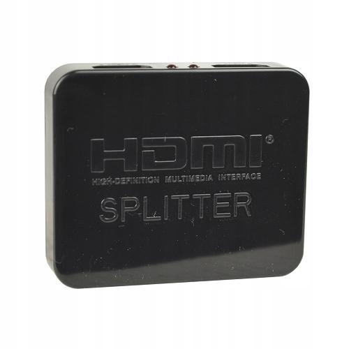 Купить РАЗВЕТВИТЕЛЬ HDMI сплиттер  лентам HDMI 4K Full HD-MUX-8 1X2 на Eurozakup - цены и фото - доставка из Польши и стран Европы в Украину.