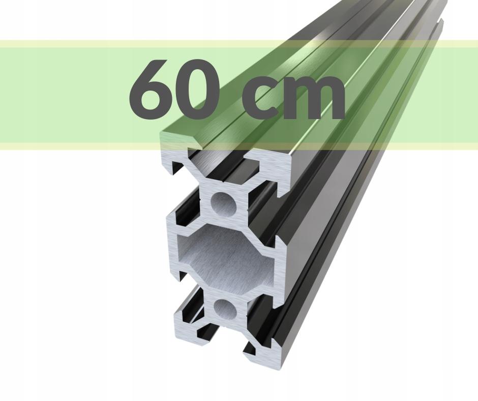 Купить алюминиевый конструкционный профиль 20x40 T6 - 60 см на Otpravka - цены и фото - доставка из Польши и стран Европы в Украину.