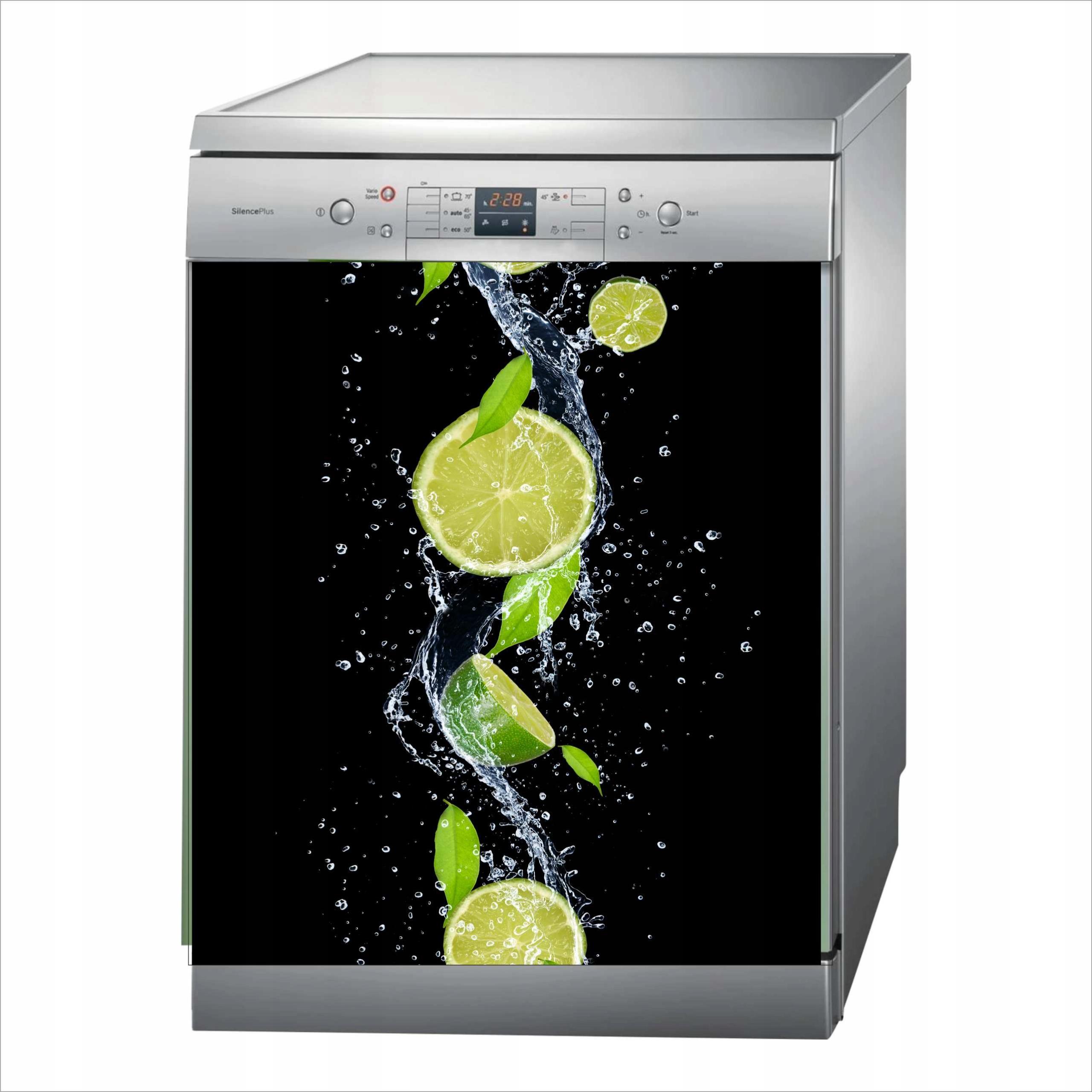 коврик магнитная магнит на посудомоечную машину фрукты лайм