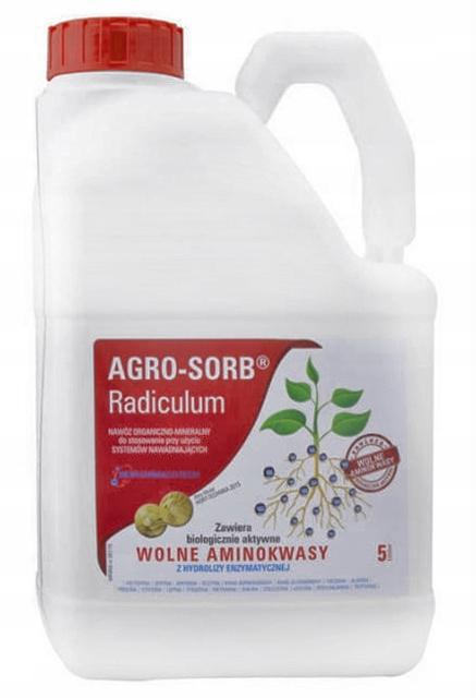 AGRO-SORB L-Aminokyseliny RADICULUM 5L REGENERUJUE RASTU