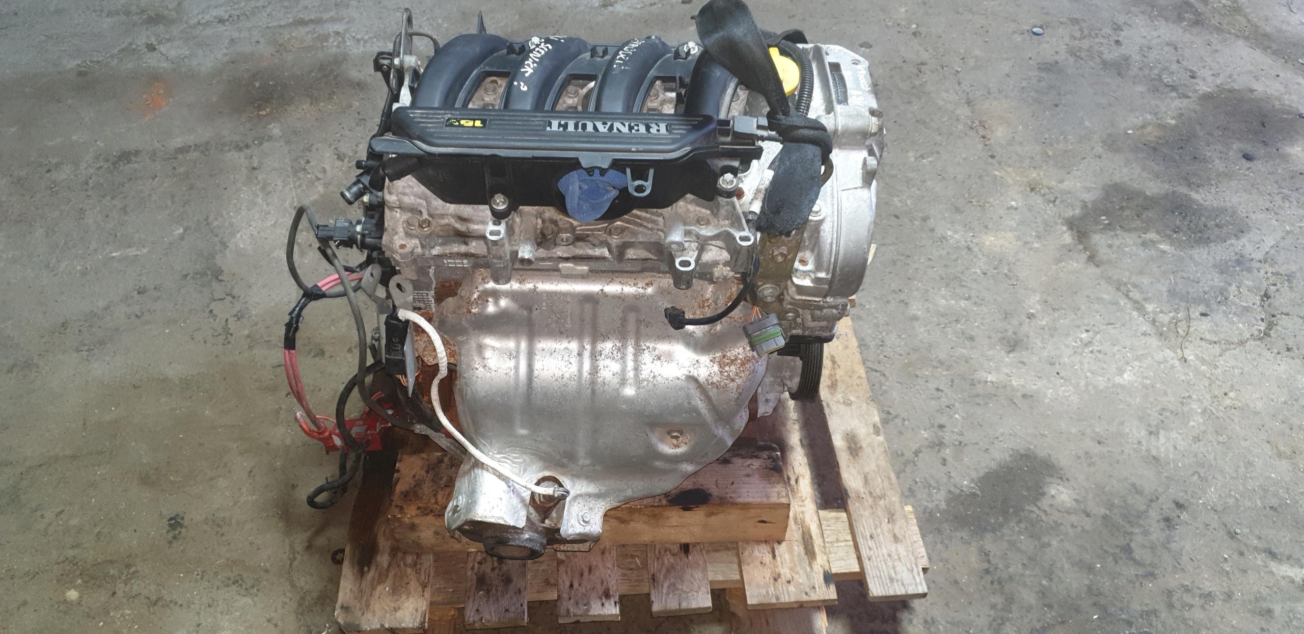 столбик двигателя renault 1 4i 16v