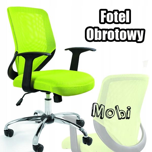Kreslo Kancelárske Mobi Jedinečný Zelený!