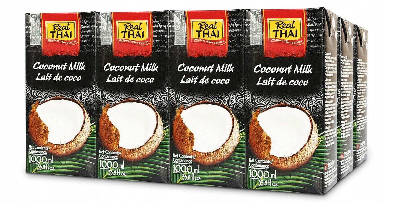 Item milk fresh coconut milk Real Thai 12L