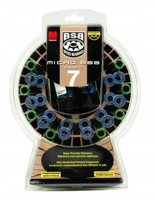 BSB MICRO 688 BEARINGS ABEC 7 súprava 16 roliek