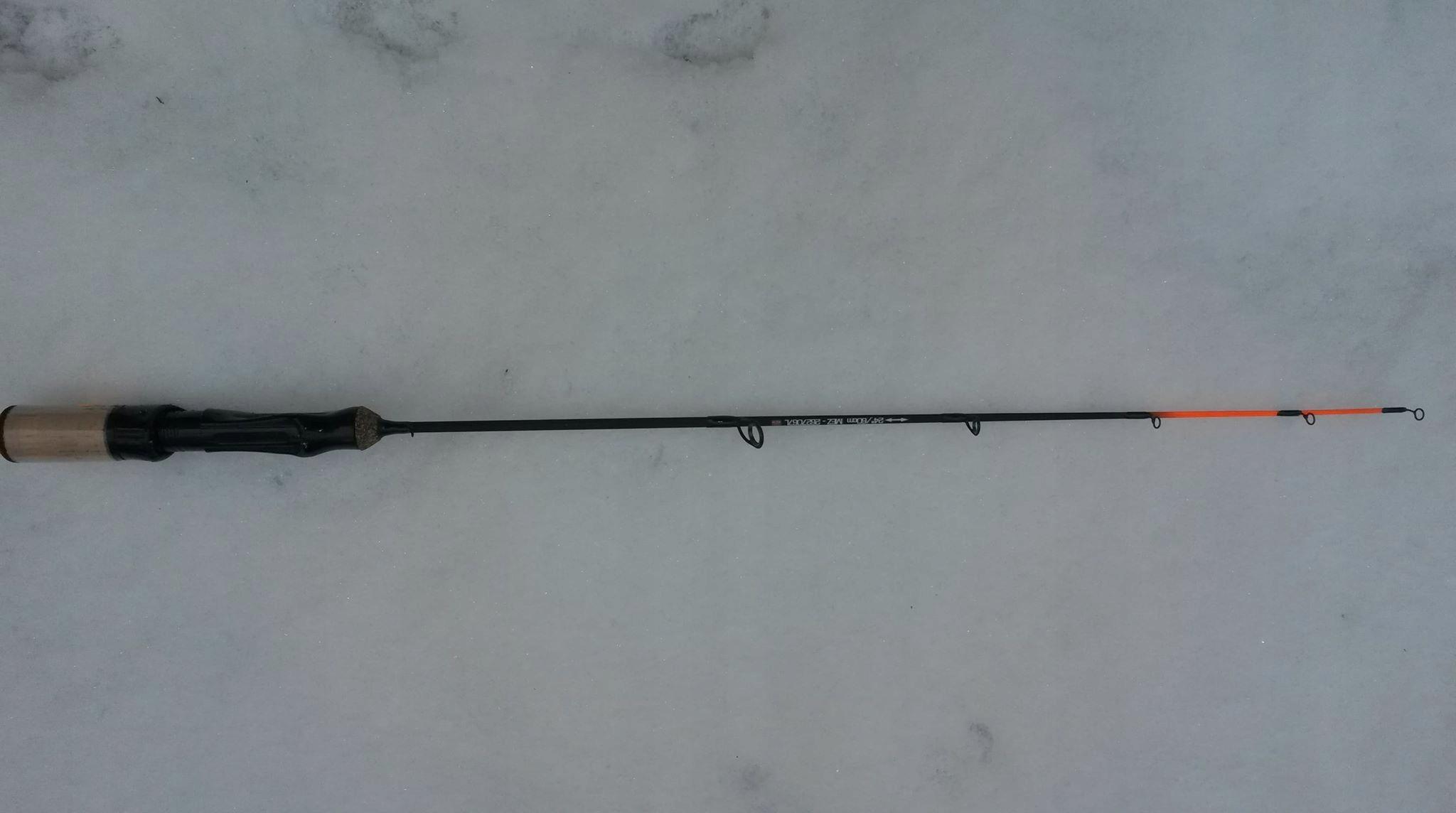 rybársky prút na rybolov na ľade, NANOCRYSTALS SVETLO Železa Vlk zadarmo