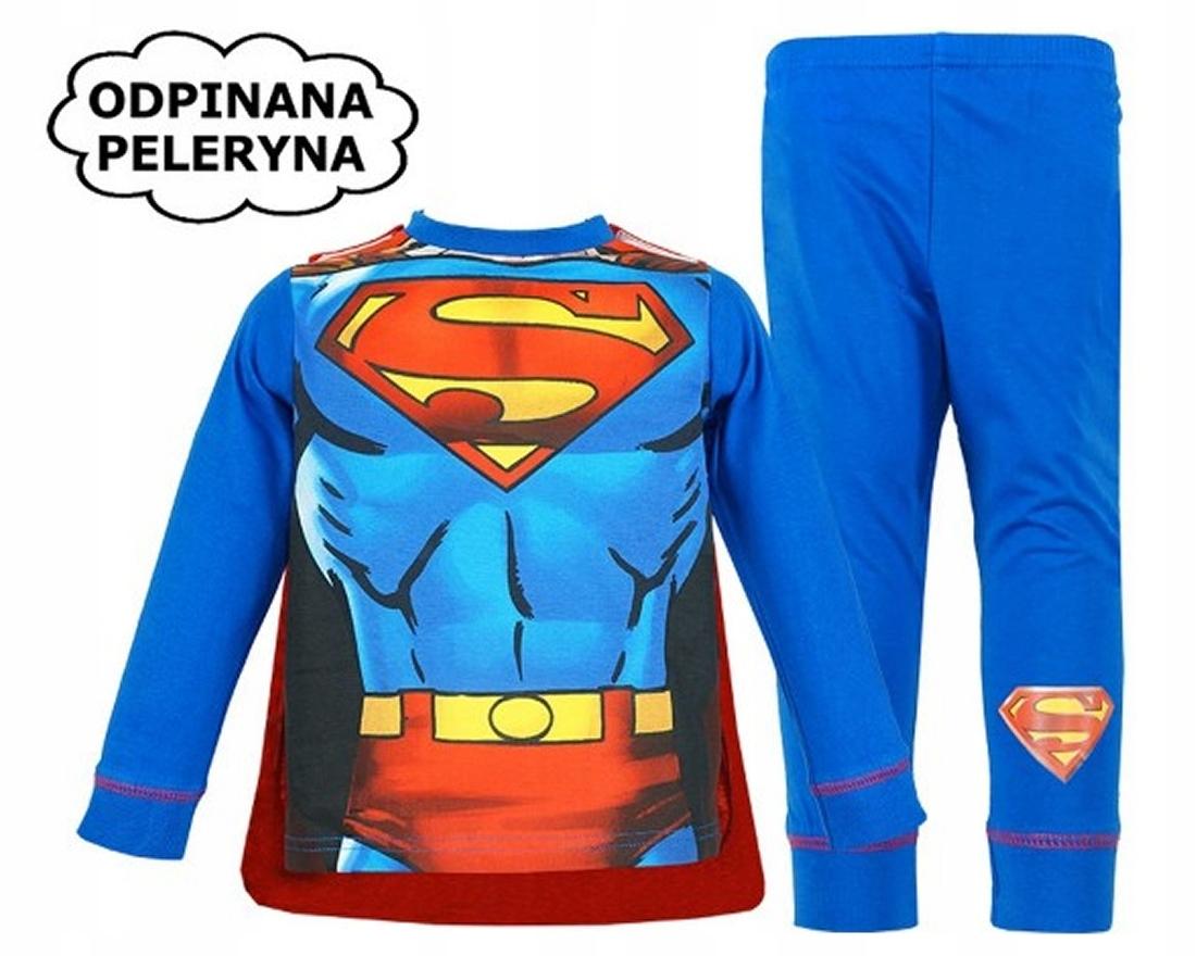 Superman pyžamo s Cape chlapci 3-4 roky šaty