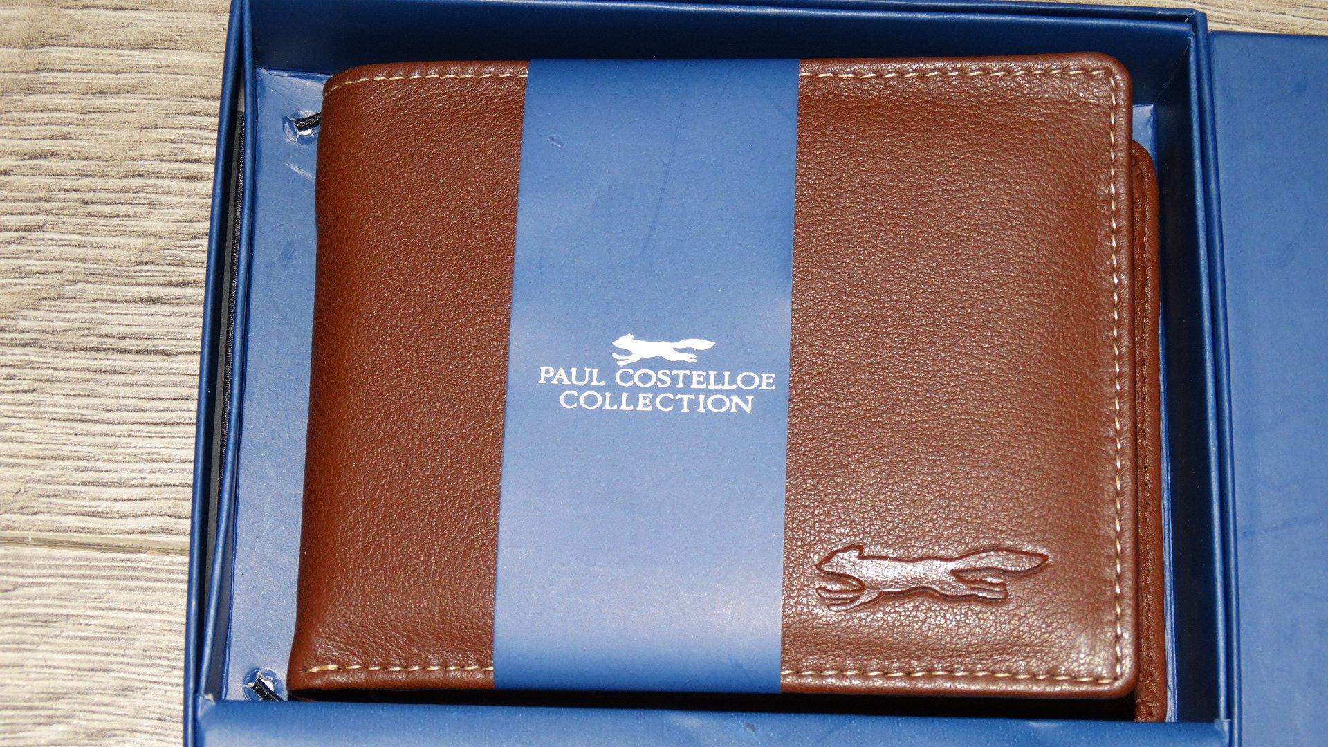 c9477c86299ff Portfel PAUL COSTELLOE Belize brązowy nowy 7856678584 - Allegro.pl