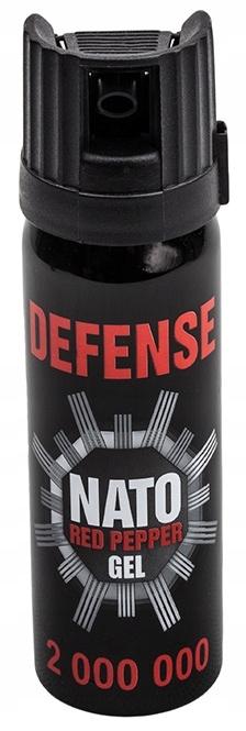 GAZ PIEPRZOWY OBRONNY DEFENCE NATO 50ml ŻEL