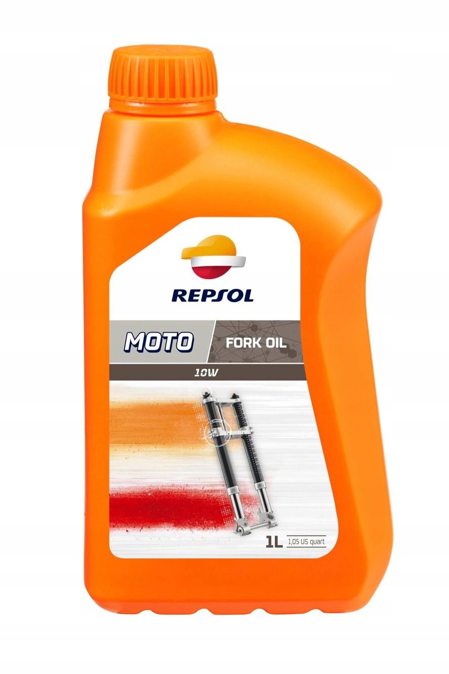 OLEJ DO AMORTYZATORÓW REPSOL MOTO FORK OIL 10W 1L