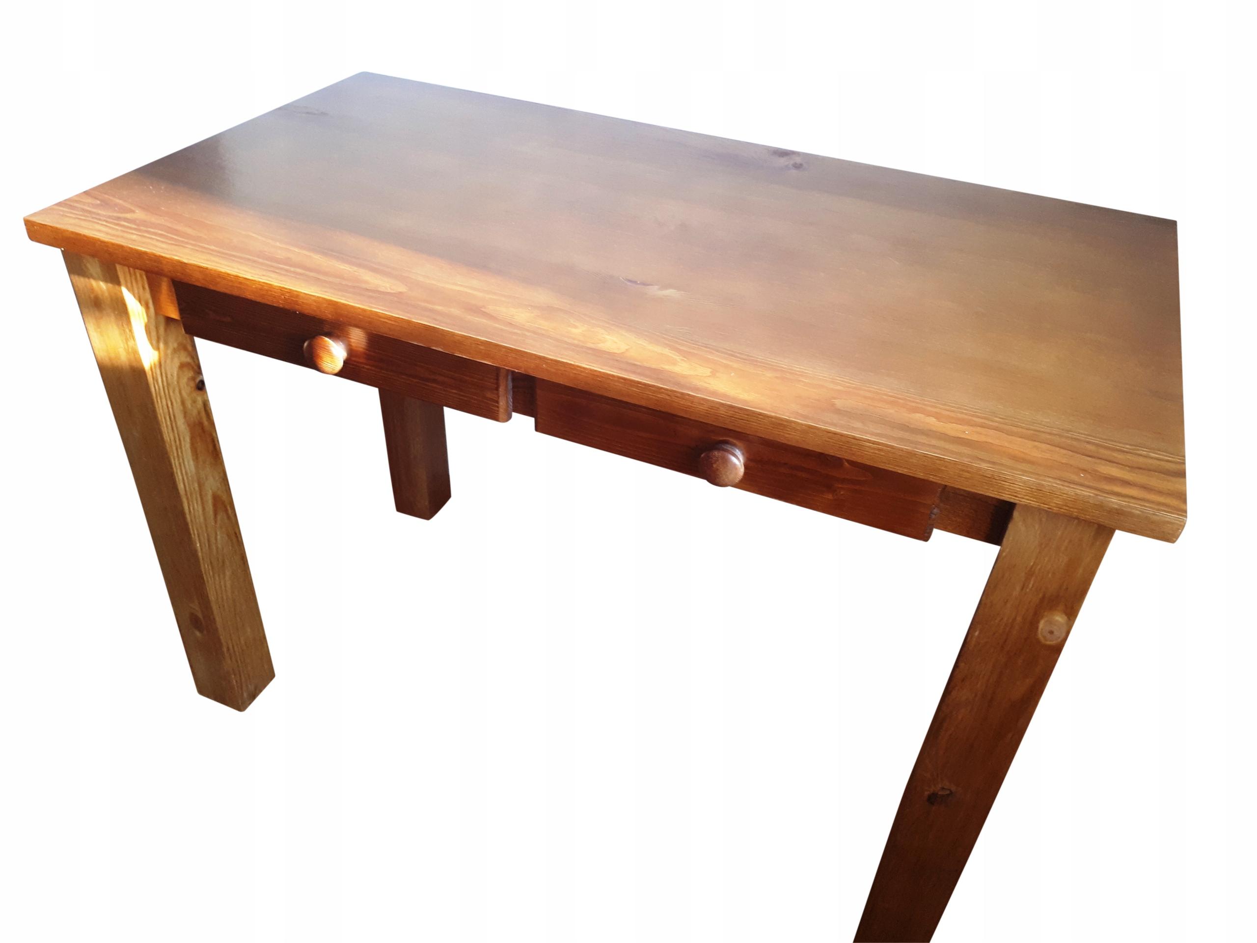 Stół drewniany sosnowy 100x70 ELEGANCKI NOWOCZESNY Kod produktu ..