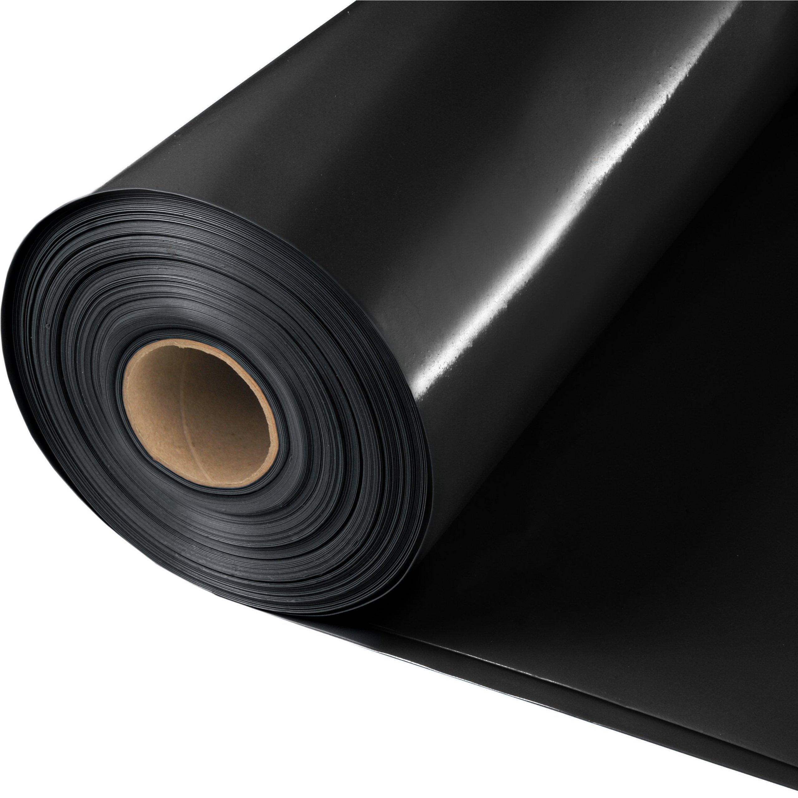 FOLIA 2x50 czarna IZOLACYJNA BUDOWLANA 0,2 0,20mm