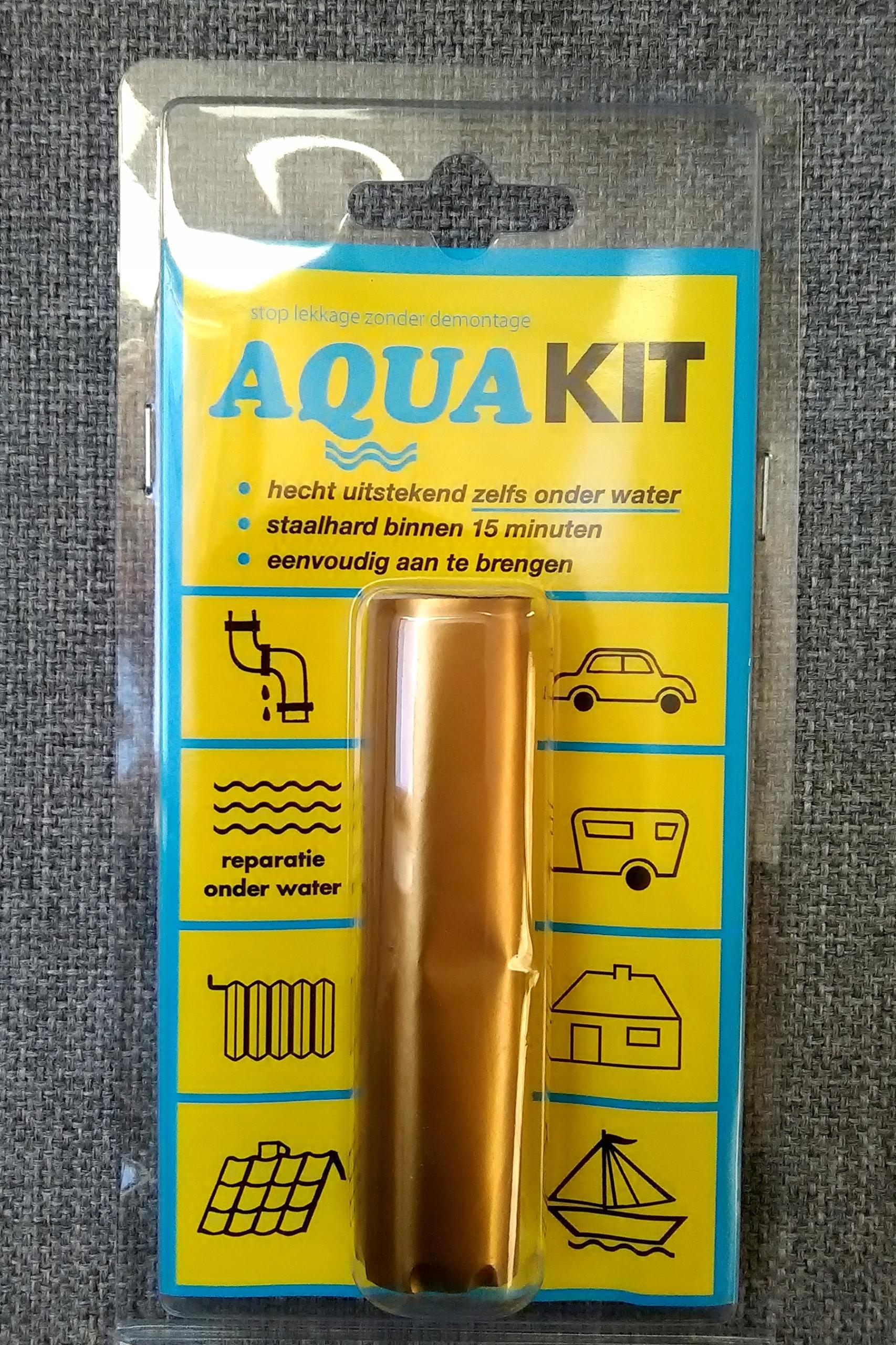 Aquakit для склеивания под водой клей гидравлический 57г