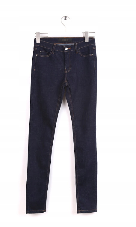 Reserved Spodnie damskie jeansowe slim r. 34