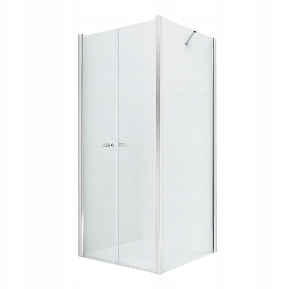 NOVINKA štvorcová sprchová kabína SOLEO 100x100 x195 cm