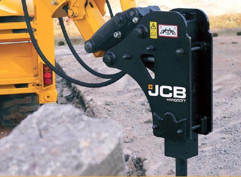 Молоток JCB ??? экскаватора 3cx/4cx JCB HM033T (980/B0250)