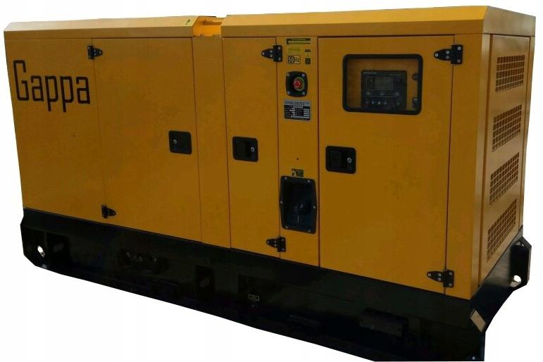 AGREGAT Prądotwórczy Generator 100kW/125 KVA IVECO