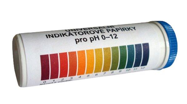 Lacum Paper Strips Meranie pH 1-12 100 ks