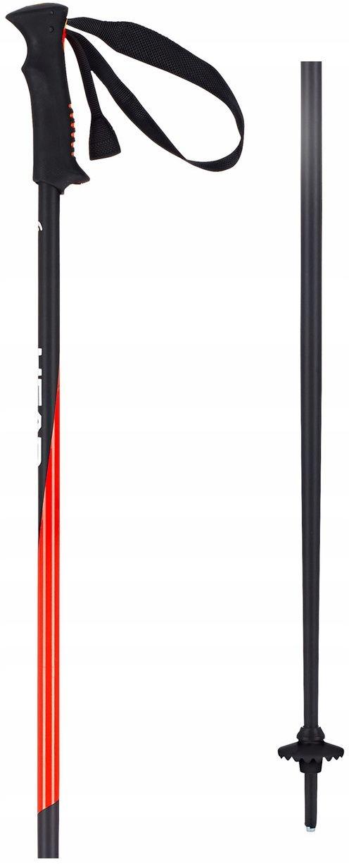 Držať HLAVU PRO ČIERNA NEON RED / Dĺžka: 125 cm