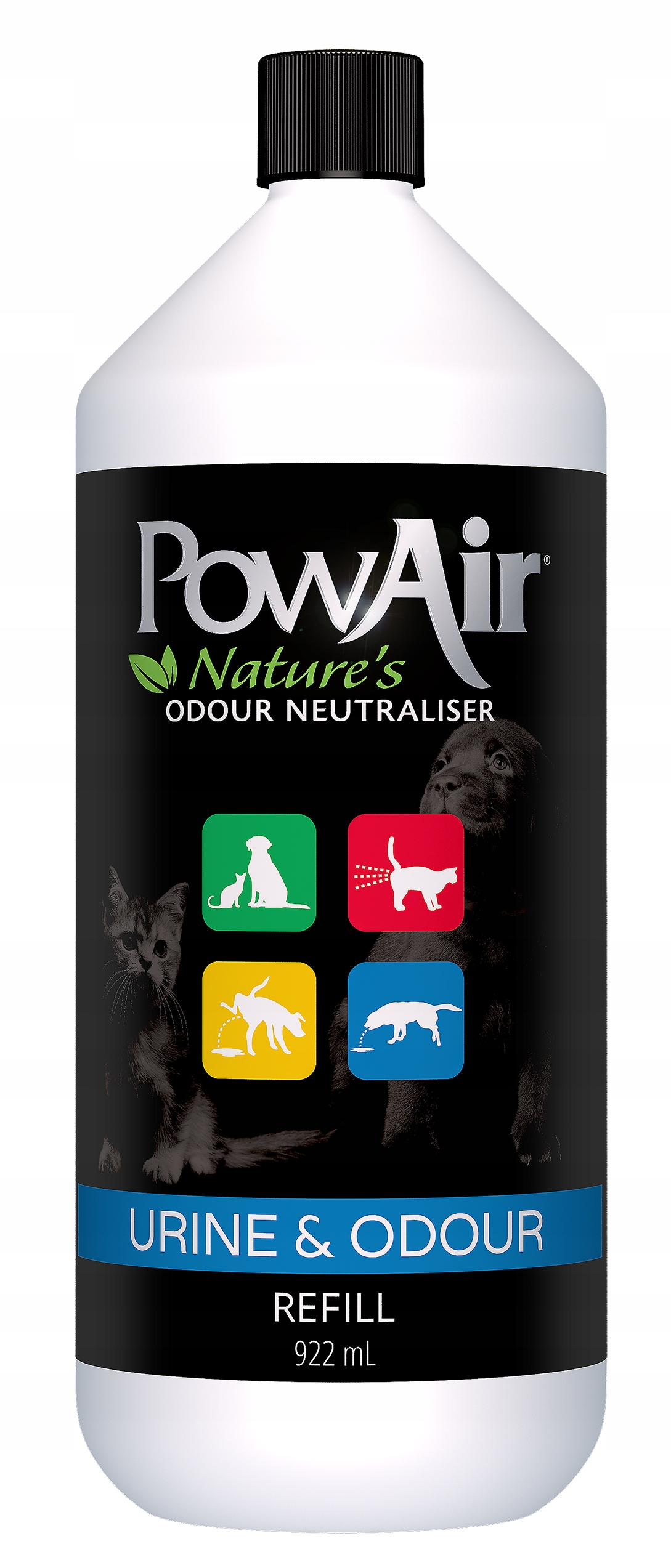 Na neutralizátorom mačka moču PowAir 922ml