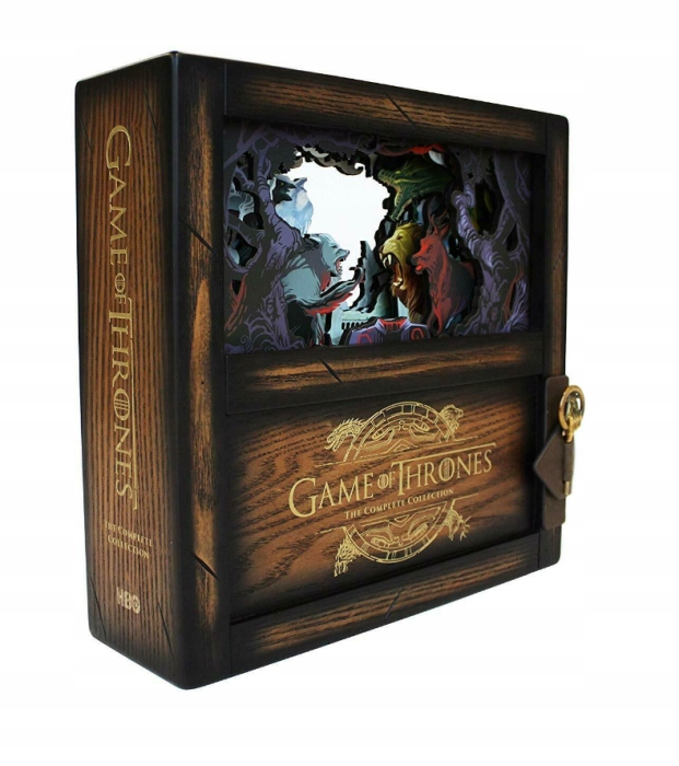 Item GAME OF THRONES COLLECTOR'S BOX SET BLUE RAY