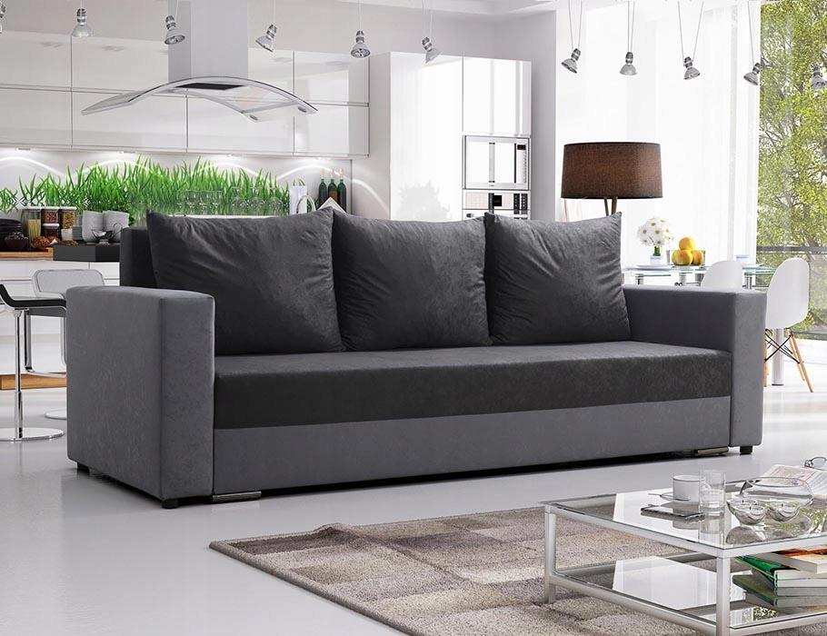 диван диван-кровать Мохито раздвижной троица серая