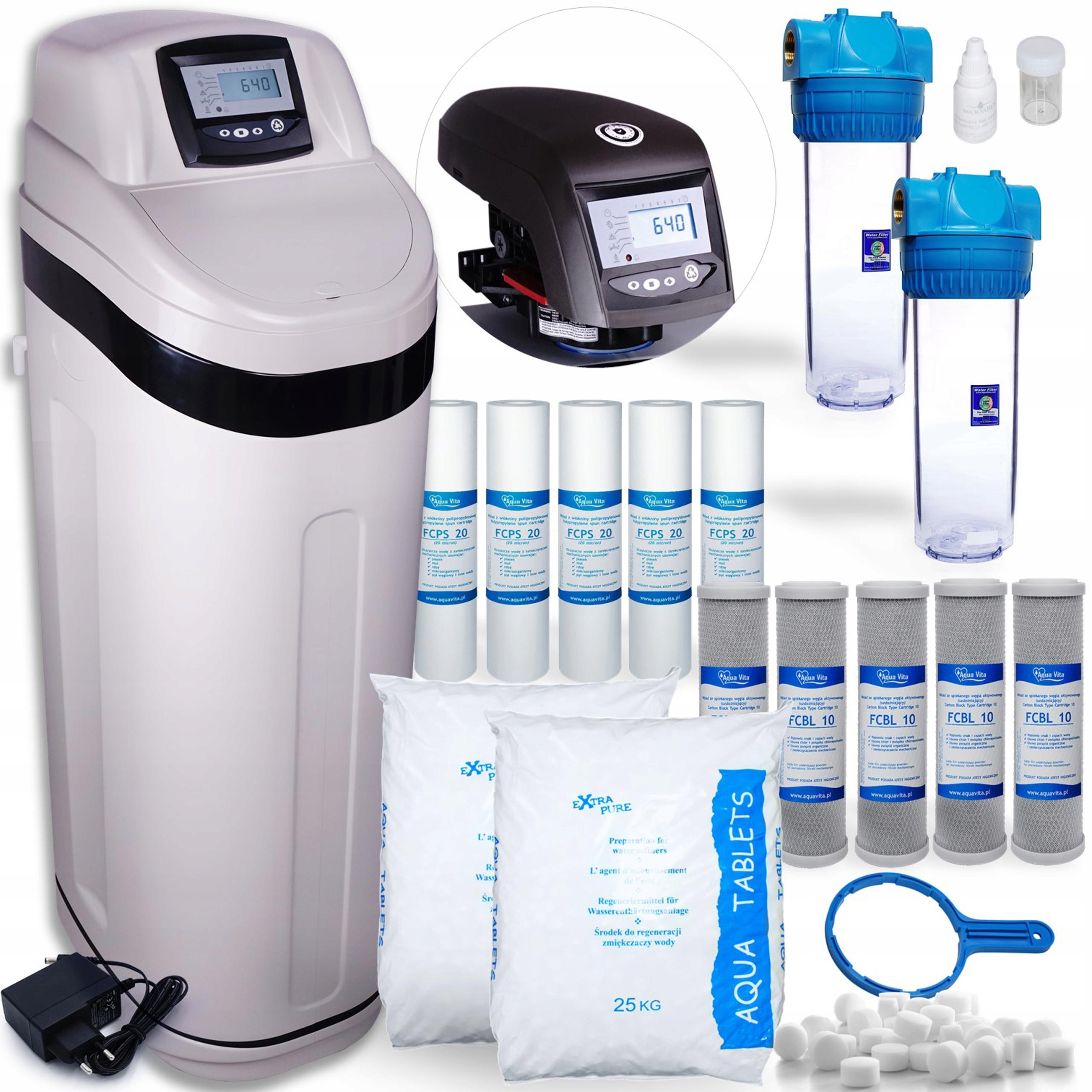 Voda a voda Accener Work30 Logix soľný filter