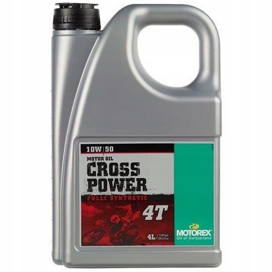 MOTOREX CROSS POWER 4T 10W-50 4L 1