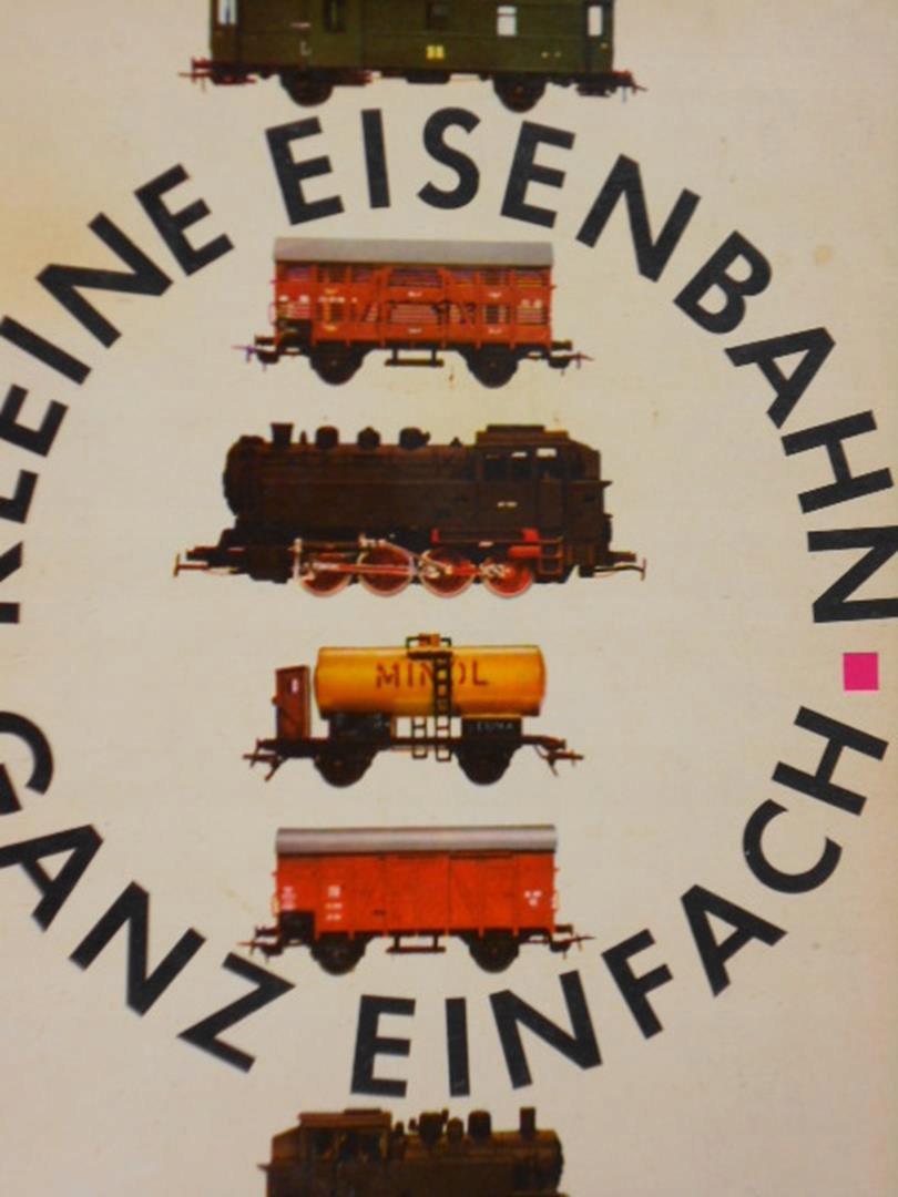 Gerhard Trost Kleine Eisenbahn Ganz Einfach (Nemčina)
