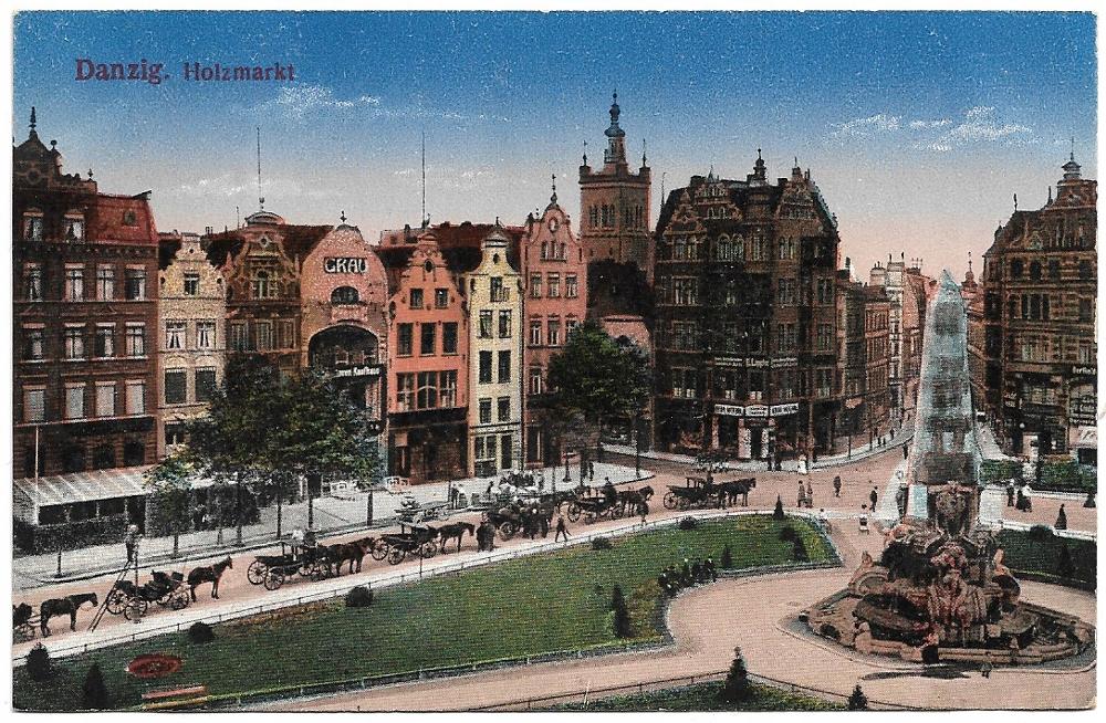 Gdańsk - Danzig - Holzmarkt