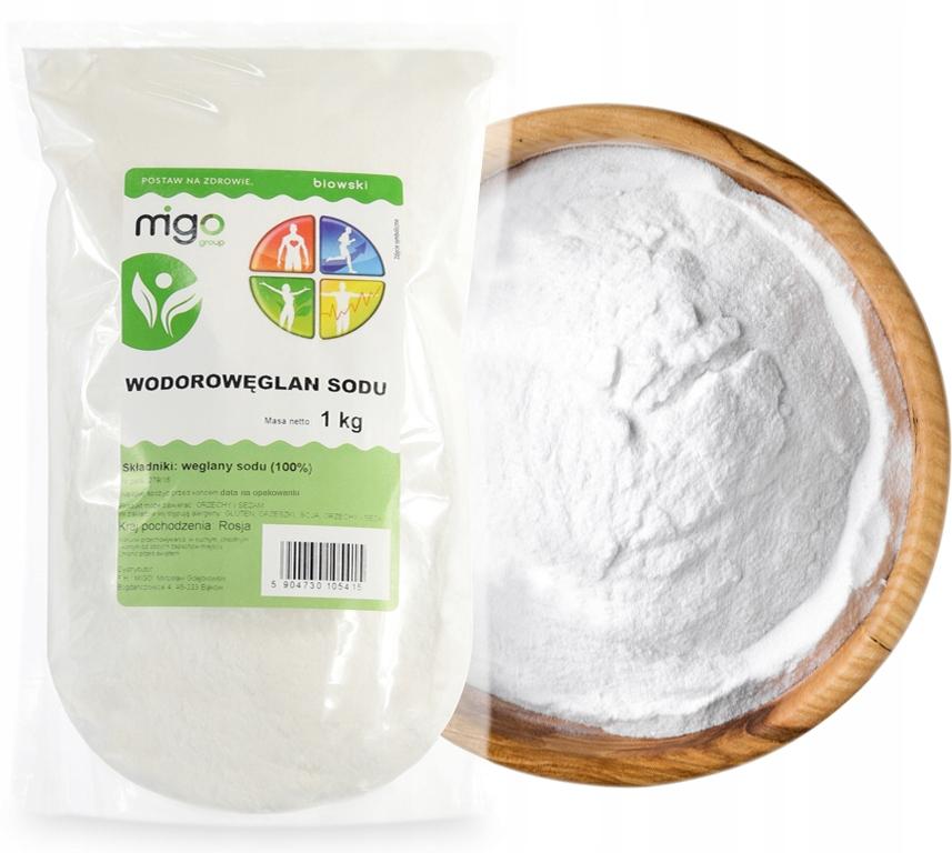 Сода пищевая, бикарбонат натрия 1кг