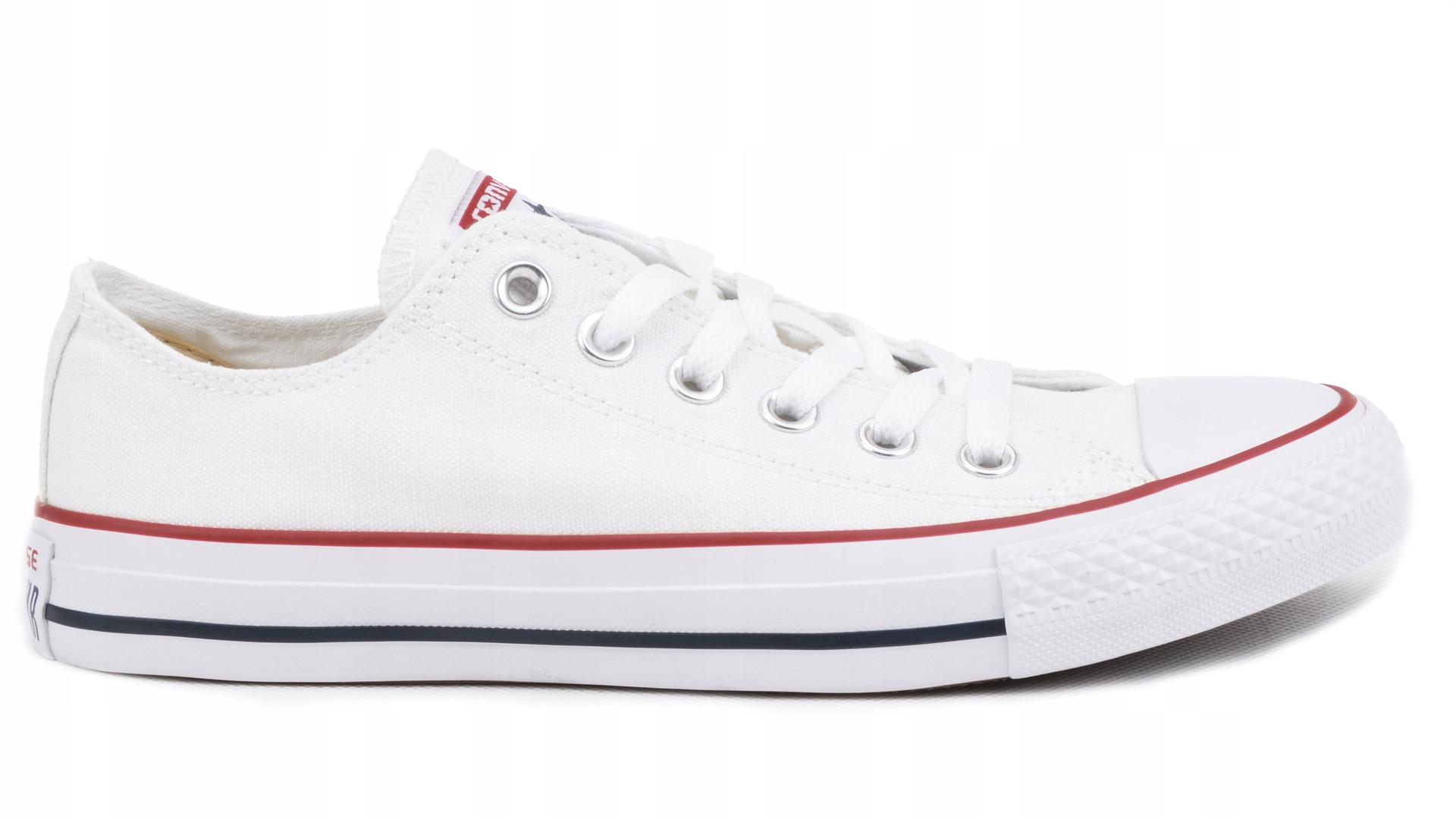 856a14a16c6f5 Converse All Star M7652 białe rozmiar 39 6970434621 - Allegro.pl