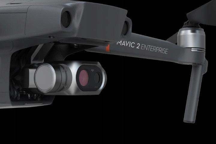 DJI Mavic 2 Enterprise Dual Kamera Termowizyjna 4K Liczba śmigieł 4