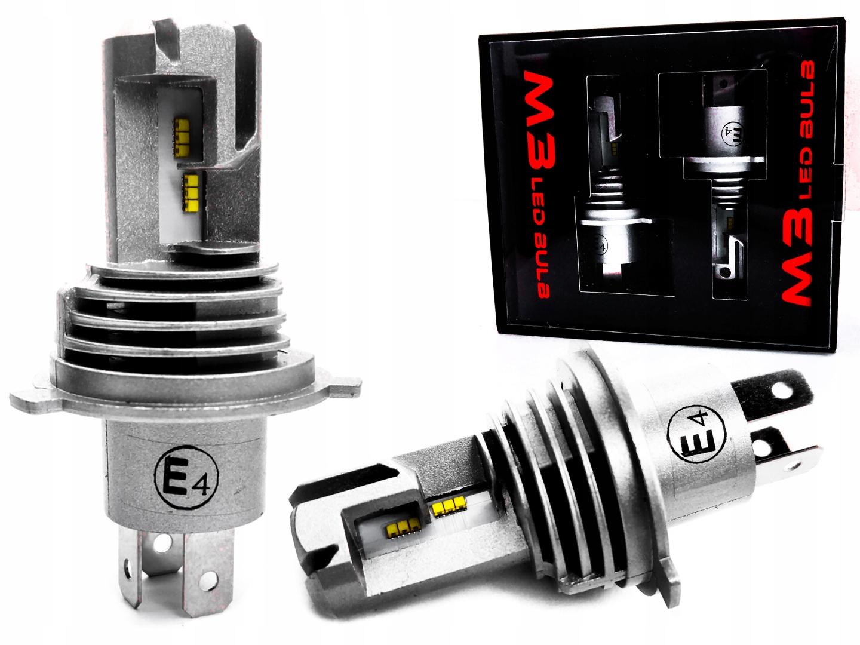 Светодиодные лампы H4 24000lm CanBus 9-30V