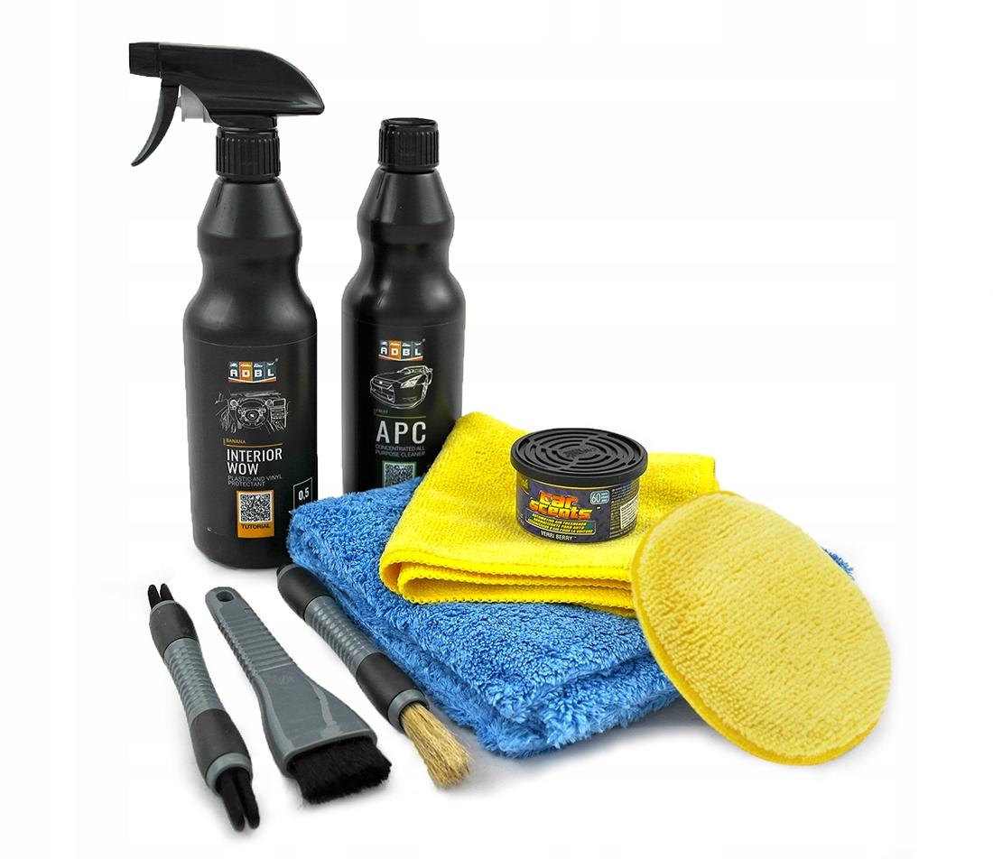 Комплект ADBL для очистки интерьера автомобиля