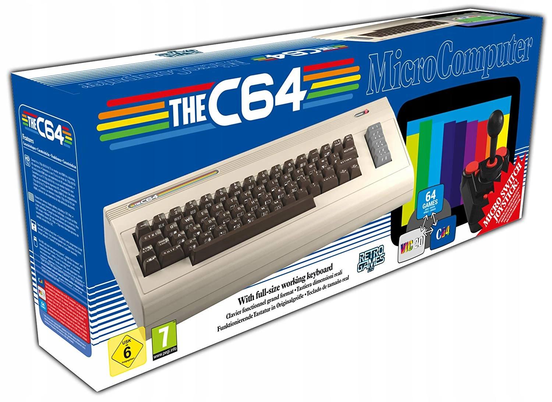 Item Console The COMMODORE C64 Maxi