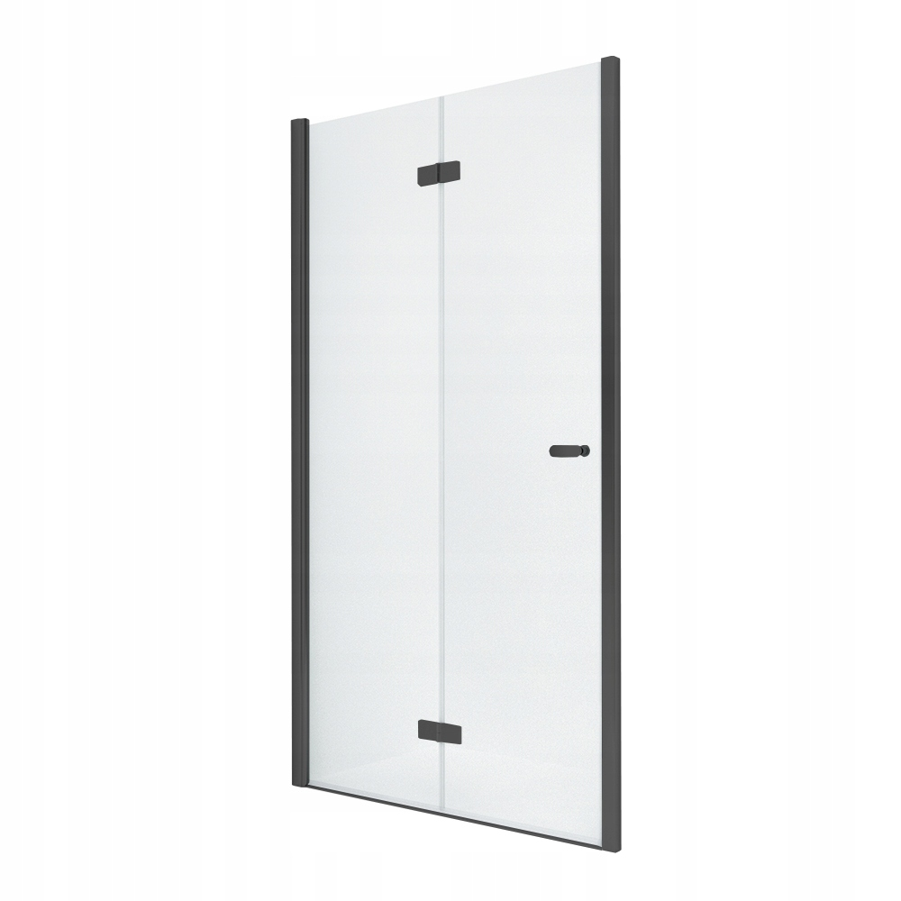 NOVINKA sprchové dvere SOLEO BLACK 90x195 cm
