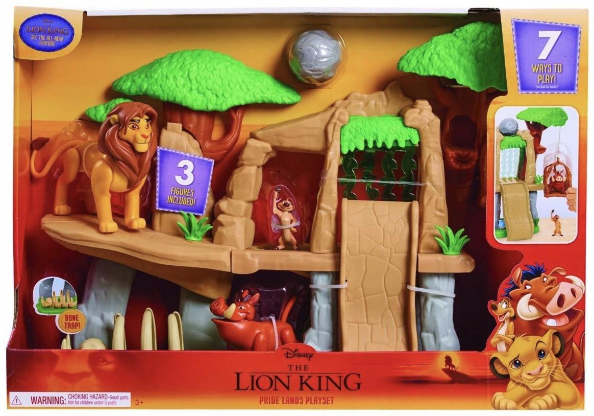 Simba The Lion King Set Figures Timon Pumba Jungle