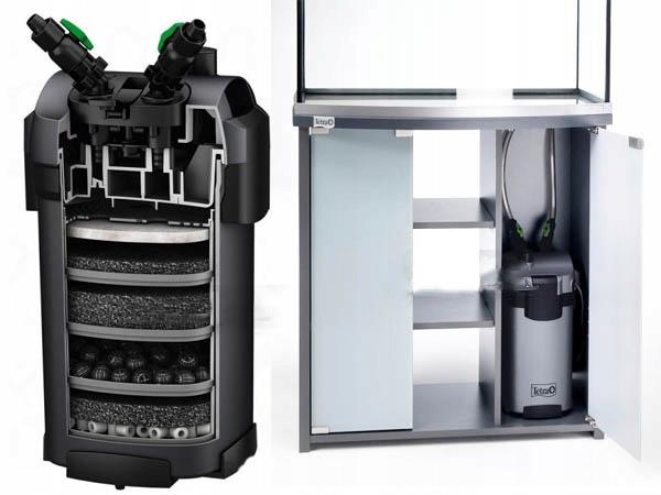 TETRA EX800 плюс внешний фильтр. 100-300l +++бесплатно! Максимальная производительность 800 л / ч