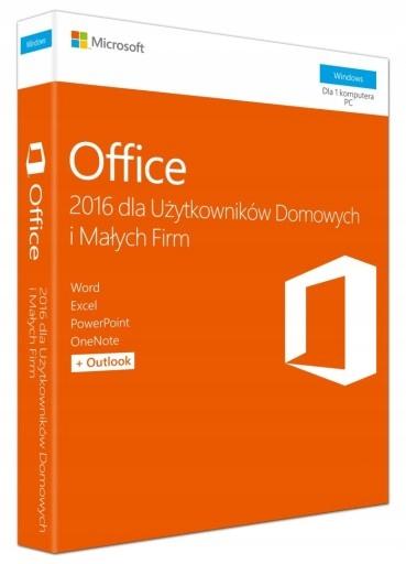НОВЫЙ MS Office 2016 для БИЗНЕСА И ДОМА BOX RU доставка товаров из Польши и Allegro на русском