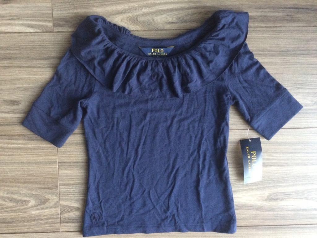 POLO RALPH LAUREN tričko, Námornícka modrá 122 7 ROKOV NOVÉ
