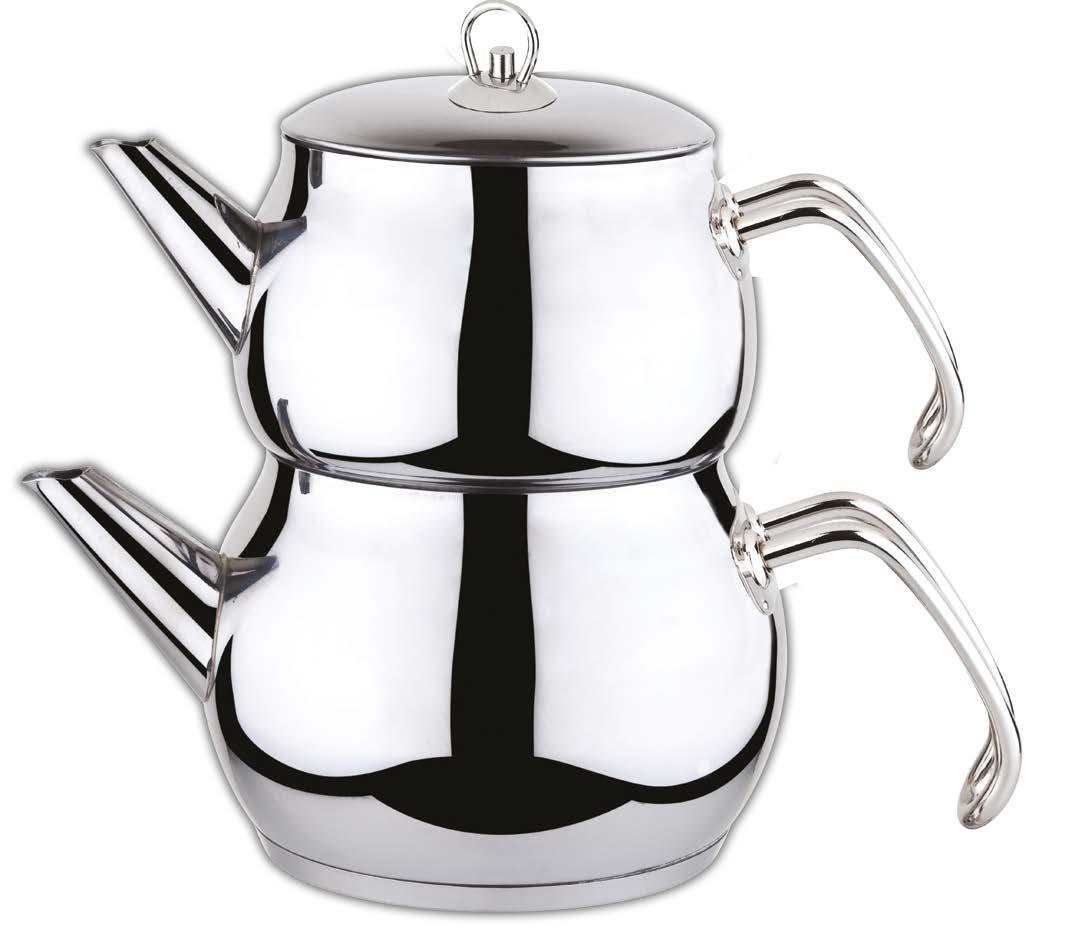 Купить Турецкий чайник для заваривания чая - средний на Otpravka - цены и фото - доставка из Польши и стран Европы в Украину.