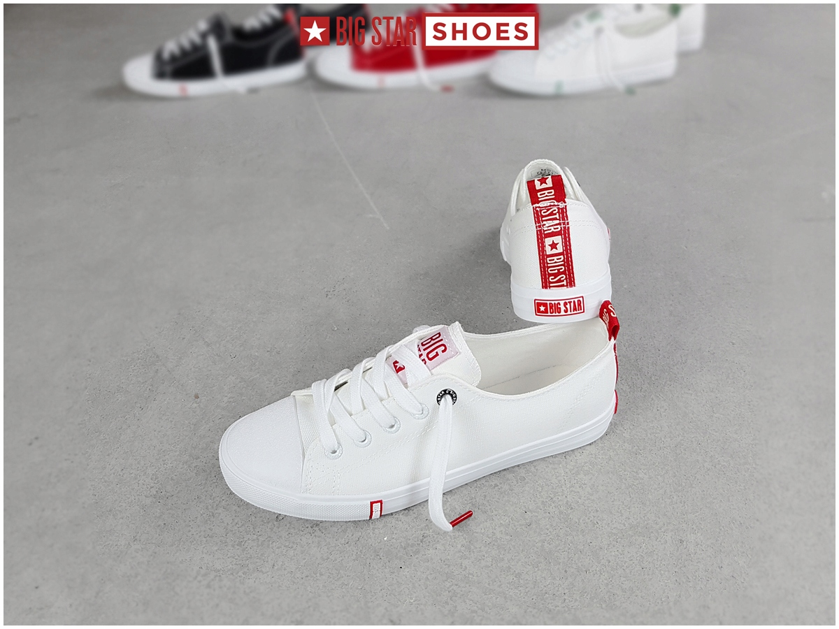 Trampki Big Star damskie białe buty FF274087 38