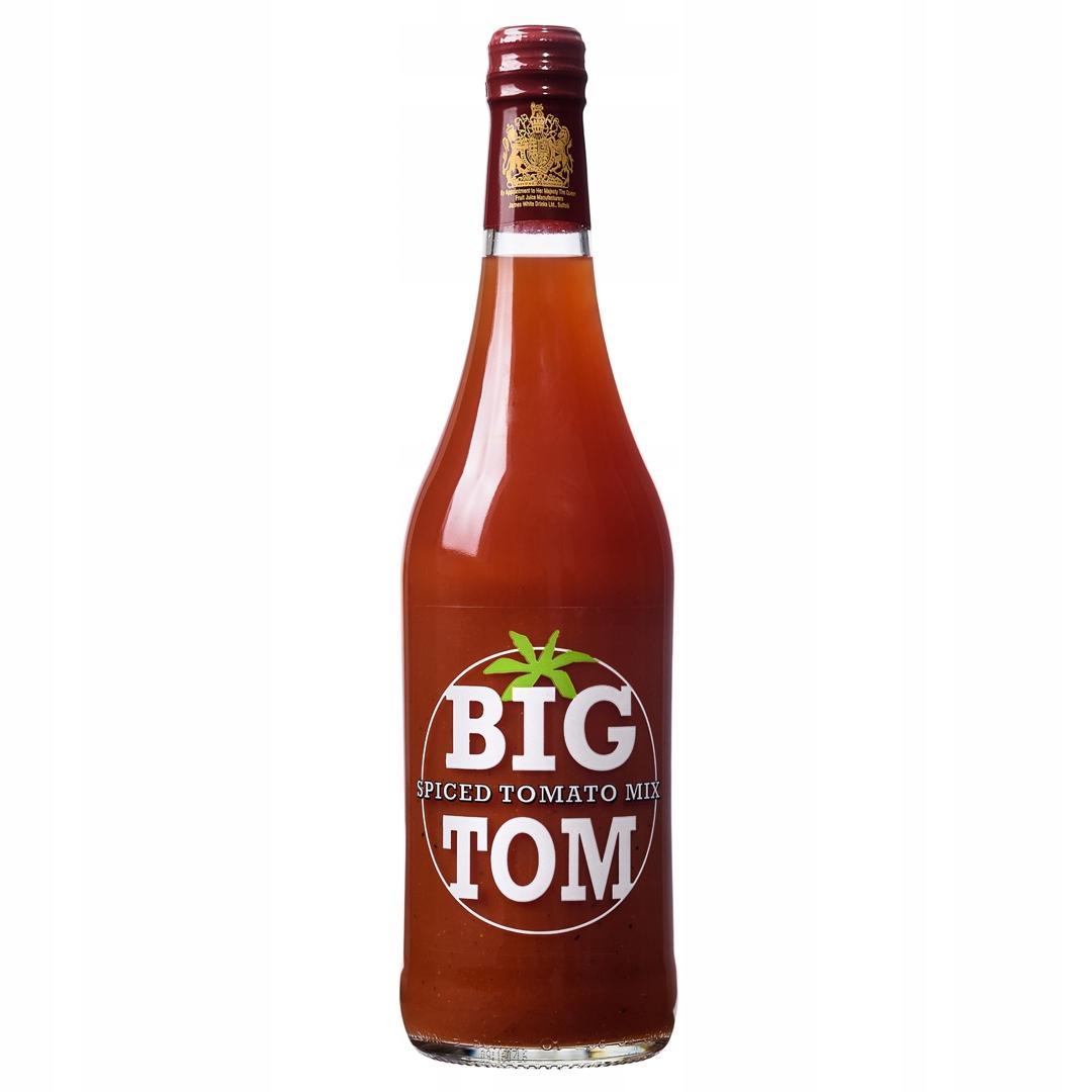 Veľké Tom ochutený paradajkový džús 750 ml fľaša x6