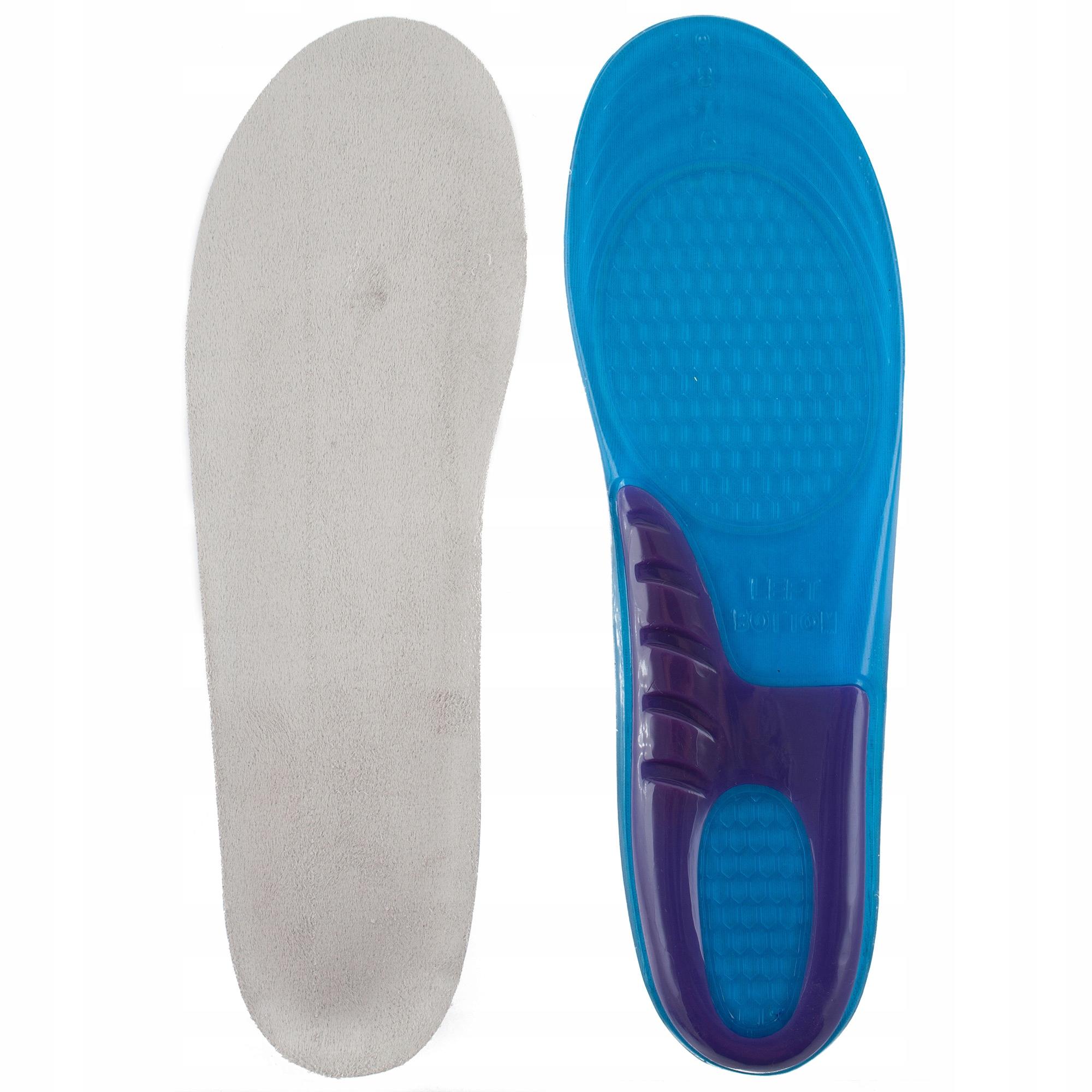Żelowe wkładki do butów ortopedyczne na ostrogi