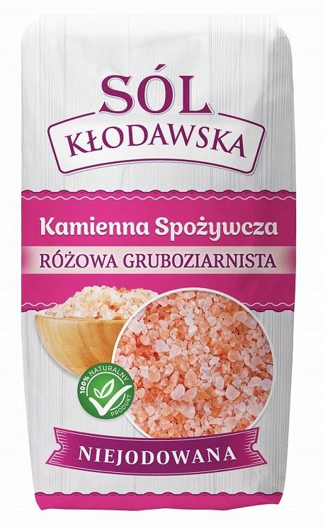Купить Клодавская соль происходит каменная РОЗОВАЯ ТОЛСТАЯ 1кг на Otpravka - цены и фото - доставка из Польши и стран Европы в Украину.