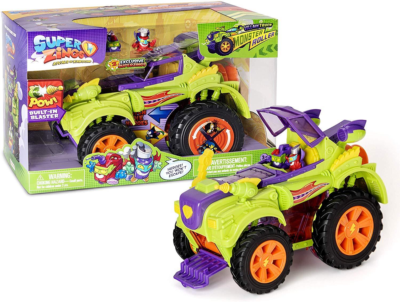 SUPER ZINGS SuperZings Monsterroller-Truck